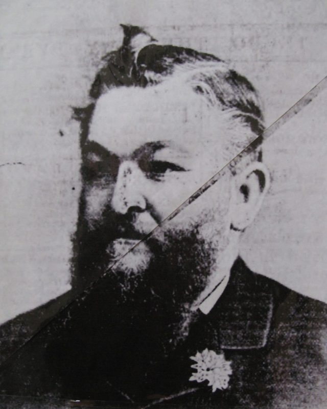 Captain Charles Frederick Bishop